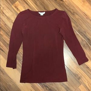 Forever 21 Maroon Top